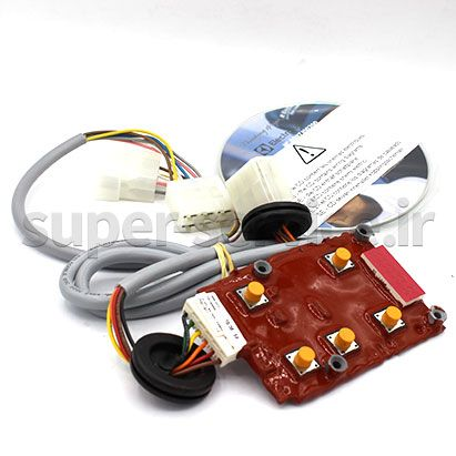 Auto Timer card assembly