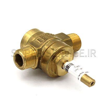 Main Gas Valve - Brass - New Style