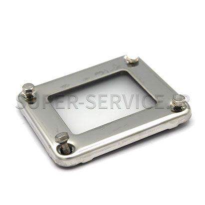 Gasket frame w. glass a. gaskets