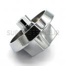 silver chrom,KNOB 1