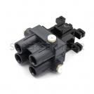 Hydraulic plug 4 line BW2/3 assy 1