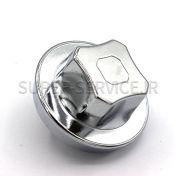silver chrom,KNOB